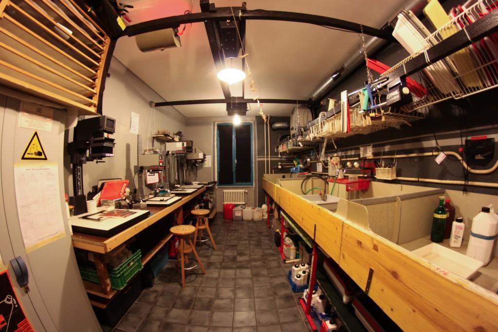 Le laboratoire Zebralab, dans les locaux actuels à l'Îlot 13.