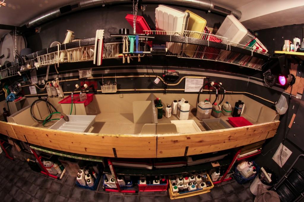 A l'intérieur du laboratoire Zebralab