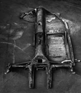 """chassis de VW coccinelle, 4x5"""""""